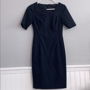 Antonio melani light navy work dress